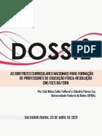Dossiê-DCNs da Educação Física