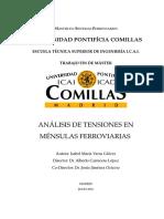 ANÁLISIS DE TENSIONES EN MENSULAS