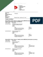 MID128-PSID96 - Pression de rampe de carburant