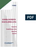 Cardoso e Falleto -Economias e Desenvolvimento Social Na América Latina