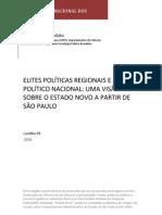 Codato, Adriano. Elites políticas regionais e jogo político nacional