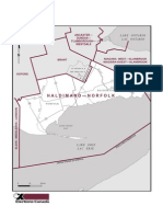 Haldimand-Norfolk riding map