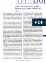 1. Boletim IBCCrim nº 270 - Protesto de Presos