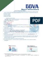 Presentacion banca Universitaria BBVA