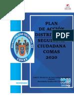 PLAN DE ACCION 2020 COMAS