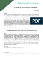 Andrew Feenberg - Marx, Lukács e a Escola de Frankfurt