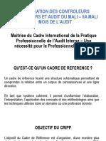 Conf Maitrise Cadre International Pratique Pro