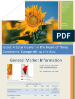 Israeli PV Market 2010