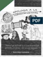 MANUAL DE APOLOGIA A LA VIGENCIA DE LOS DONES (escrito el año 2005)