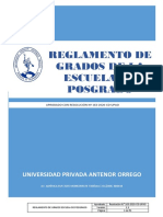 REGLAMENTO DE GRADOS 163-2020