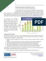 Jegi's q1 2011 m&a Report