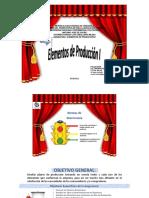 ELEMENTOS DE PRODUCCION CONTENIDO PDF
