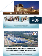 Traqueostomía percutánea (TP) Francisca Llobell.ppt