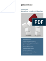 AnalysisGroup_Subprime_Lending_Litigation