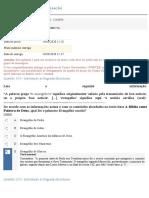 INTRODUÇÃO ÀS SAGRADAS ESCRITURAS - APOL 2