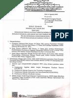 Surat Edaran Nomot 3580 Tahun 2021 Tentang Pengaturan Pengajuan Surat Perintah Membayar (SPM)