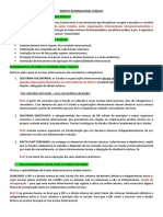 Resumo - Direito Internacional Público (Slide e Prof)