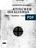 Kalergi Richard - Praktischer Idealismus - Adel - Technik - Pazifismus (1925)