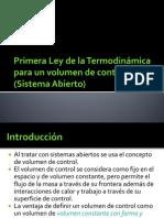 09-Primera Ley de la Termodinámica para VC