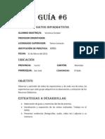 GUÍA 6