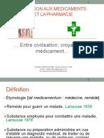 1 HISTOIRE MEDICAMENTS & PHARMACIE DR SOAFARA ANDRIANOME