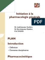 Pharmacologie 2020-Dr Soafara