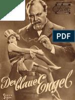 Das Neue Film-Programm - Der Blaue Engel (1930)