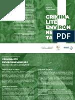 Appel à candidatures - Criminalité environnementale - Université Senghor