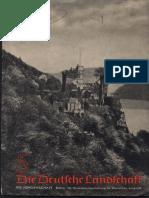 Die Jungenschaft - Die Deutsche Landschaft (18 S., Scan, Fraktur)