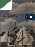 Die Jungenschaft - Fahrt Und Lager (27 S., Scan, Fraktur)