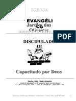 Apostila - Discipulado III