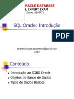02 -SQL Oracle - Introducao e Comandos DDL (2-3)
