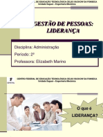 Alunos - 8ª aula - Liderança - 2016.2