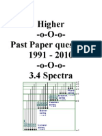 3.4 Spectra 92-10