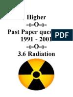 3.6.1 Radiation 91-01