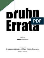 Bruhn Errata by Bill Gran