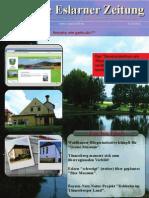 Erste Eslarner Zeitung, 4. Ausgabe 2011