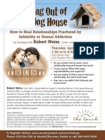 """""""Getting Out of the Dog House"""" presentation featuring Rob Weiss, LCSW, CSAT-S"""