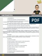 Edital Esa Matematica