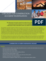 Construction Checklist 10-08
