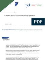 CleantechPitchbook