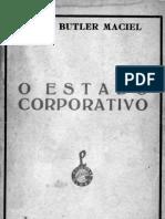 O Estado Corporativo - Anor Butler Maciel