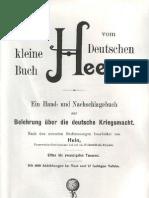 Hein - Das kleine Buch vom Deutschen Heere (1901)