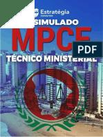 Caderno de Questões - MP-CE Técnico Ministerial 18-01