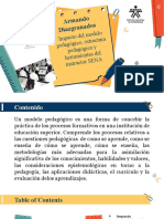 IMPACTO DE MODELO PEDAGÓGICO SENA