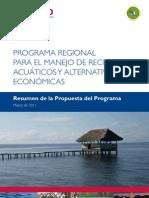 Resumen de la Propuesta del Programa MAREA