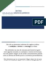 Slides - ELEMENTOS ACIDENTAIS_EFICÁCIA