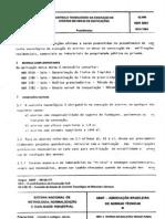 NBR 5681 NB 501 - Controle tecnologico da execucao de aterros em obras de edificacoes