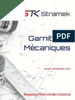 Catalogue Commercial Garnitures Mechaniques Stramek
