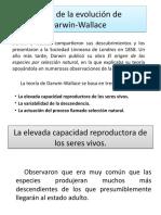 Teoría de la evolución de Darwin-Wallace!